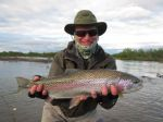 Leopard rainbows on the Kanektok