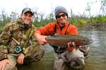 Ben's rainbow trout on the Kanektok