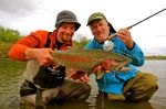 Brian's rainbow on the Kanektok