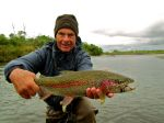 Bill's rainbow on the Kanektok